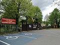 Przed wejściem do Wielkopolskiego Parku Etnograficznego w Dziekanowicach - maj 2019.jpg