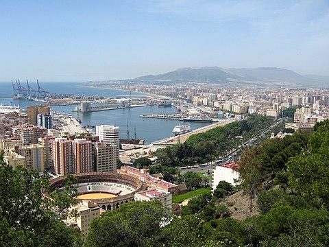 How many days in Malaga?