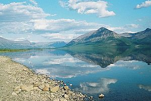 Lake Lama - Panorama of the lake