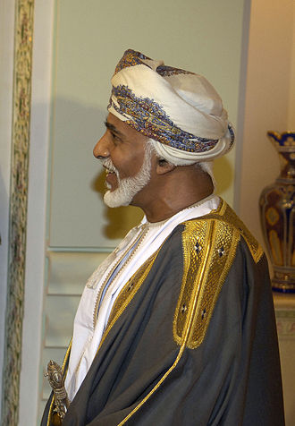 Sultan - H.M. Sultan Qaboos bin Said al Said, the current Sultan of Oman from the Al Said dynasty.