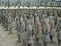 Qin Shihuang Terracotta Army, Pit 1 Restoration Area (9891979906).jpg