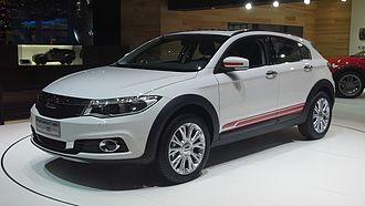 Qoros - Image: Qoros 3 City SUV 01 Geneva Motor Show 2015 03 08