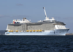 Quantum of the Seas, das Typschiff der Klasse