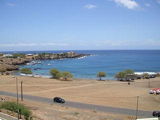 Ponta Temerosa point in Cape Verde