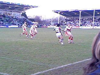 London Broncos - Harlequins RL vs St. Helens in 2006, the first game under in their new guise