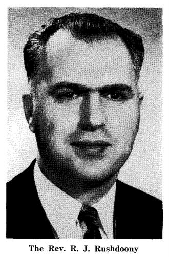 R. J. Rushdoony - Rushdoony, c. 1958