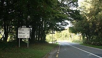 Regional road (Ireland) - The R583 leaving Millstreet