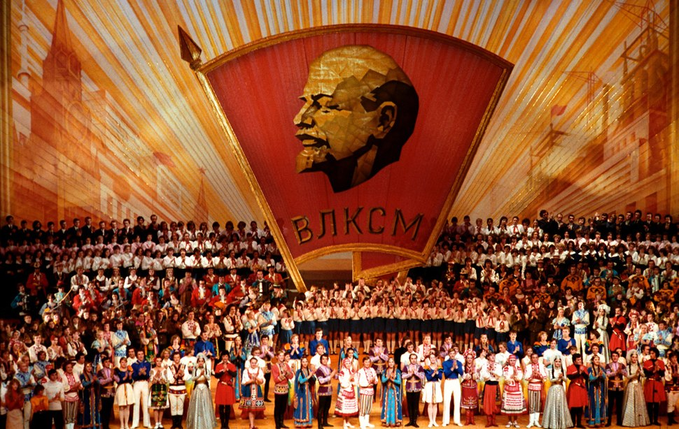 RIAN archive 142011 A masters-of-art concert on the VLKSM 60th anniversary