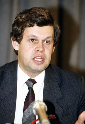 Prosecutor General of Russia - Image: RIAN archive 425138 Valentin Stepankov, RSFSR Attorney General