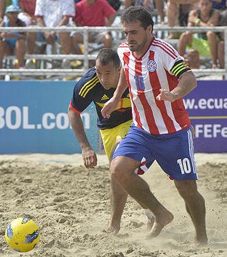 Roberto Acuña - Acuña at the 2015 Beach Soccer Championship