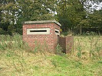 ROF type pillbox at ROF Steeton.