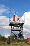 Radar antenna, Liverpool John Lennon Airport 1.jpg