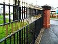 Railings at Thompson House Hospital - geograph.org.uk - 1590373.jpg