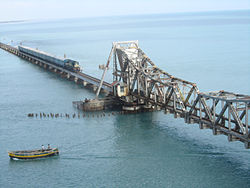 Railway bridge, Rameshwaram, TN, India.jpg