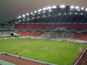 Das Rajamangala-Nationalstadion in Bangkok