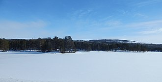 Rambergsjøen - Image: Rambergsjøen i mars