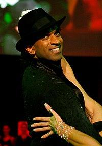 Ramesh Nair, dancer against cancer 2010.jpg