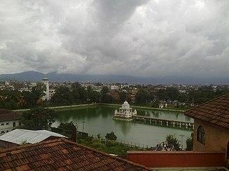 Ranipokhari - Wide view of Ranipokhari
