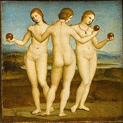 Raphael: Les Trois Grâces