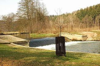 The Úpa near Ratibořice (Ratoborschitz)