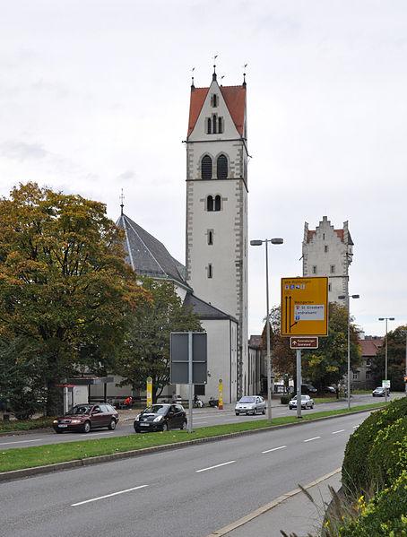 File:Ravensburg Wilhelmstraße Liebfrauenkirche Frauentor.jpg