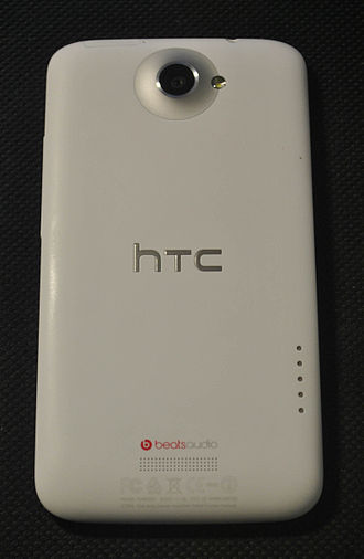 HTC One X - Image of the rear of the HTC One X