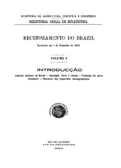 Recenseamento do Brazil (1920) - 02.djvu