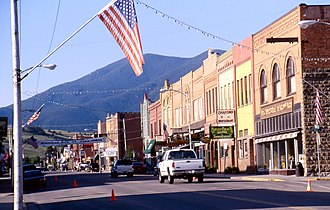 Red Lodge, Montana - Main Street in Red Lodge