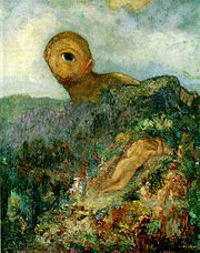 The Cyclops, a 1914 painting by Odilon Redon.