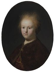 Rembrandt's sister,or Portrait of a Girl