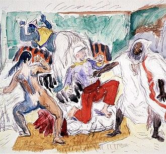 René Beeh - Image: René Beeh, Légionnaire poignardé par un Algérien