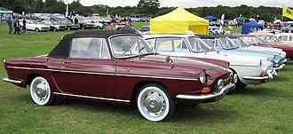 Renault Caravelle - Renault Caravelle cabriolet.