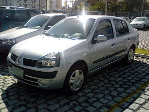 Renault Symbol - 2002 Renault Symbol facelift