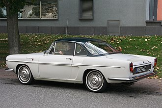Renault Caravelle - Renault Floride S convertible (with hardtop).