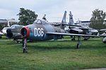 Republic F-84F Thundrstreak - Muzeum Lotnictwa Kraków.jpg