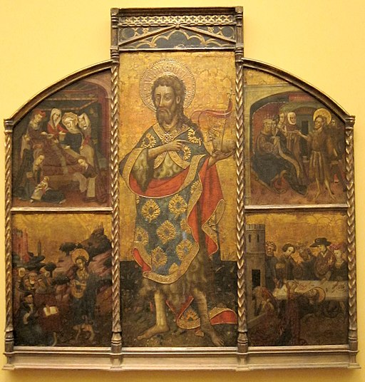 Retable of Saint John the Baptist by Blasco de Grañén, San Diego Museum of Art