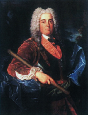 House of the Infantado - Image: Retrato do Infante D. Francisco de Bragança (1729) Jean Ranc (Palácio Real de Madrid)