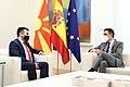 Reunión del Presidente de España y el Primer Ministro de Macedonia en la Moncloa.jpg