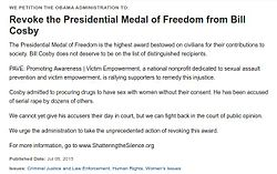 Revoke the Presidential Medal of Freedom from Bill Cosby.jpg