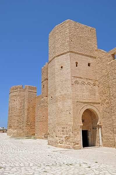 Ribat of Monastir. Film location from Monty Python's Life of Brian