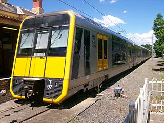 North Shore & Western Line rail service in Sydney, New South Wales, Australia
