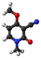 Ricinine molecule ball.png