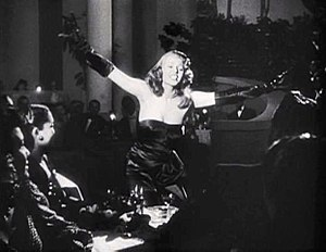 Strapless dress - Rita Hayworth in Gilda (1946)