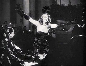 Strapless dress - Rita Hayworth in Gilda (1946)