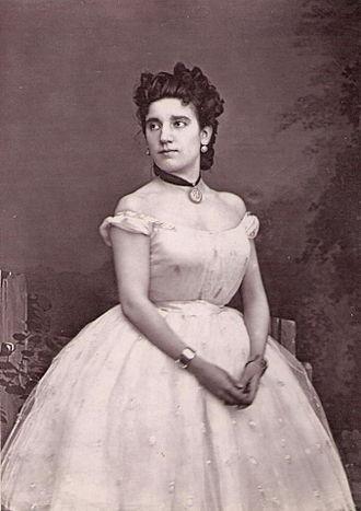 Rita Sangalli - Rita Sangalli in 1874.