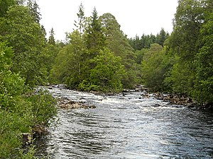 River Garry, Inverness-shire - River Garry near Invergarry