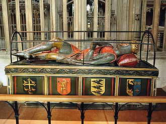 Robert Curthose - Robert's tomb in Gloucester Cathedral