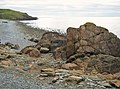 Rocky shoreline at low tide - geograph.org.uk - 1552332.jpg