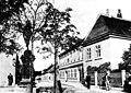 Rodaun Ketzergasse Hochstraßenkreuzung Schulhaus 1898.jpg
