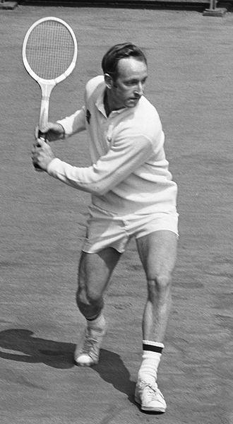 Rod Laver - Laver at Amsterdam in 1969